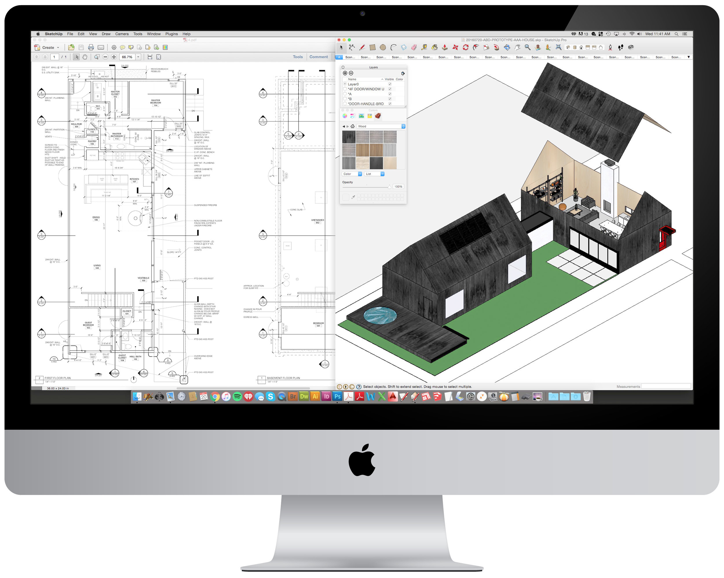 Drafting & 3D Visualization - As Designers & Fabricators, we create your project while understanding the building process from start to finish.We offer comprehensive design, detail, and rendering packages, 3D models, and hand-sketches that allow you to experience the materials, spaces, views, and details of your project.