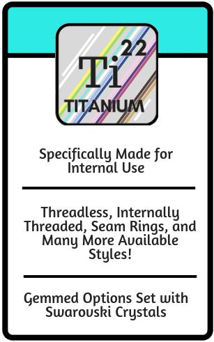 titanium body jewelry