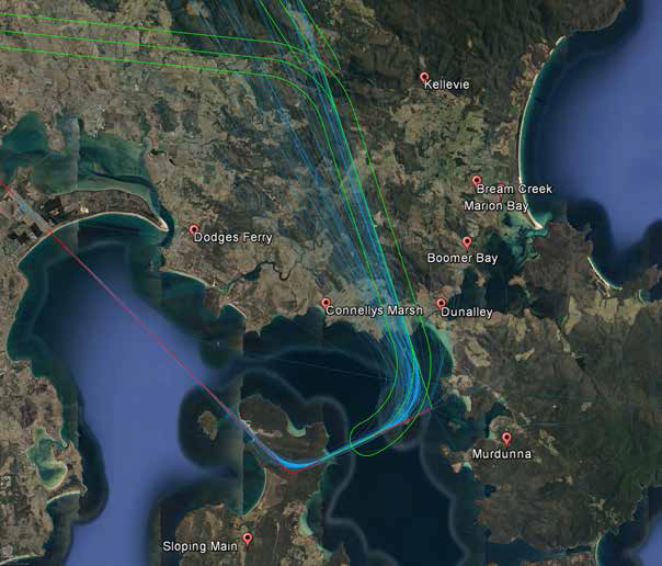 Alternative Flight Path 2 taken from Airservices's  Review of Runway 30 STAR  report