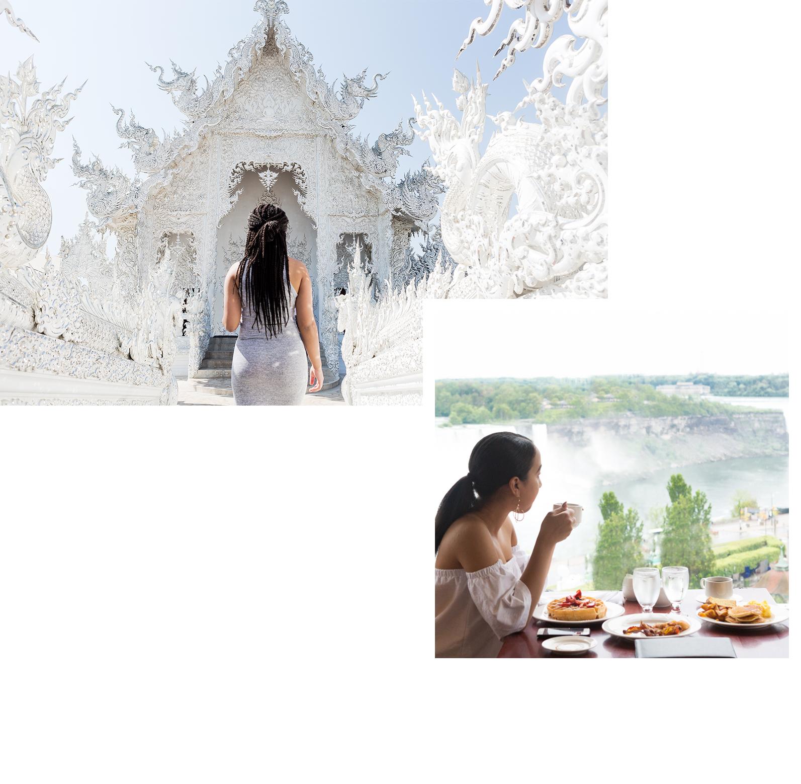 Desiree Thomas - travel blogger