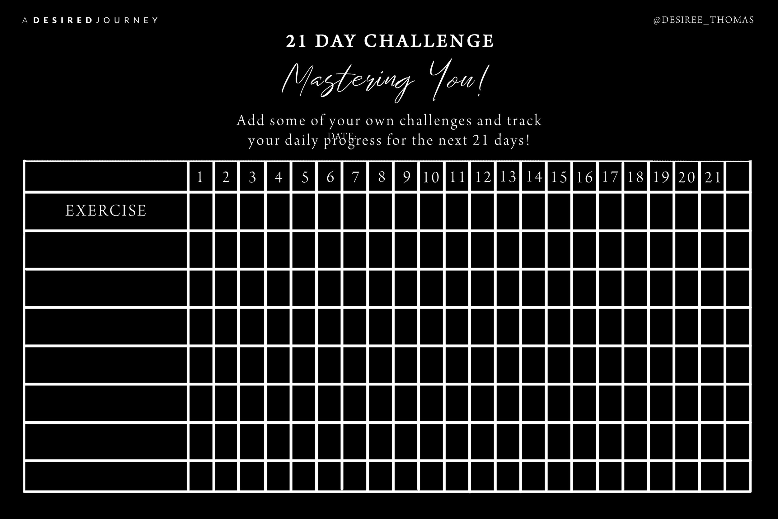 21 Day Challenge - A Desired Journey.jpg