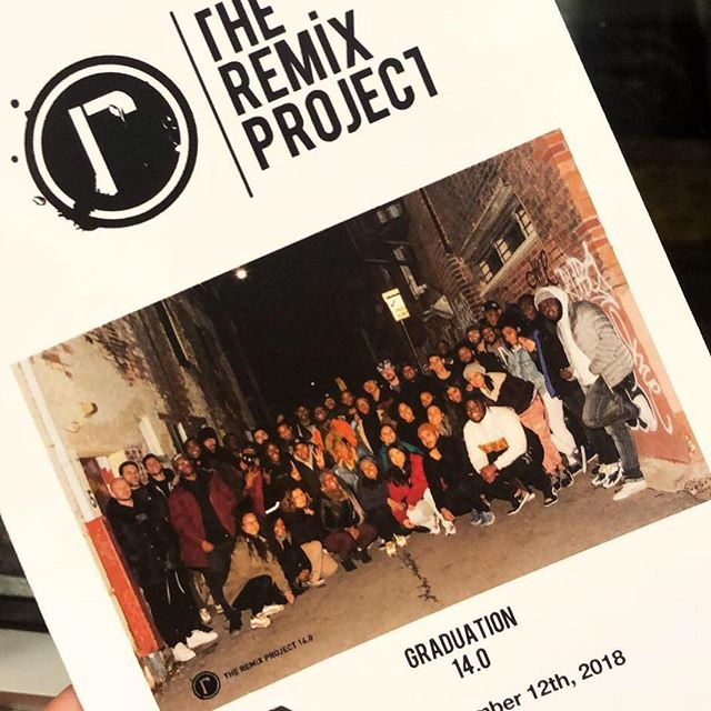 About last night... Congratulations to @theremixproject 14.0 graduates! . . . 📸 : me