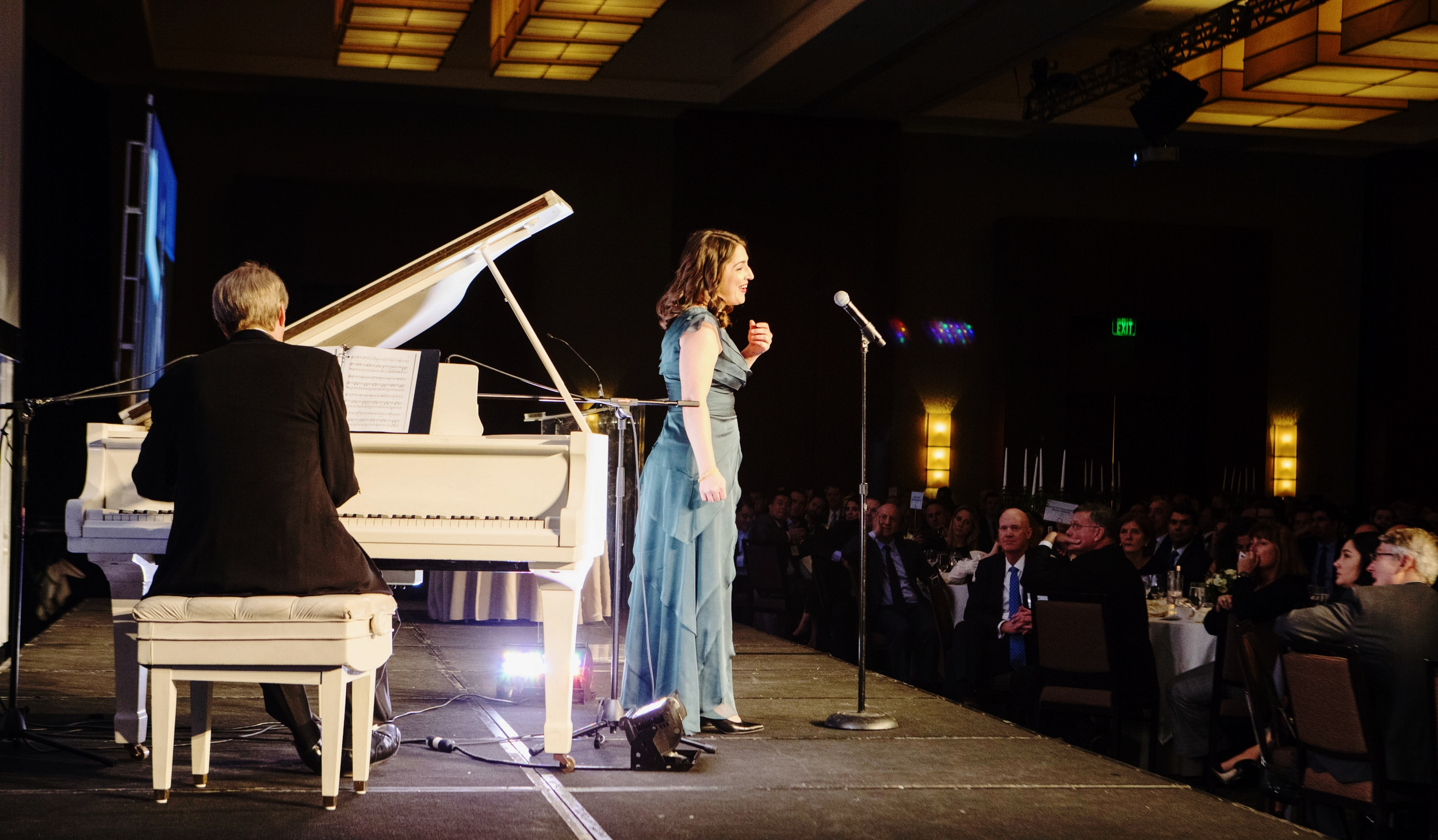 Ms. Worrell performs at NAIOP Massachusetts' 2017 Gala at the Westin Waterfront Hotel in Boston, MA.