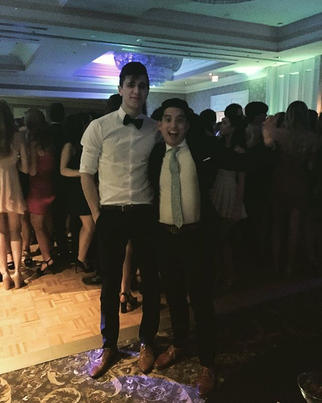 Last night was a funtastic cav prom for M.Pimental and Maxwell Mckee! #2k17 Our grade 11 and 12s had a blast!