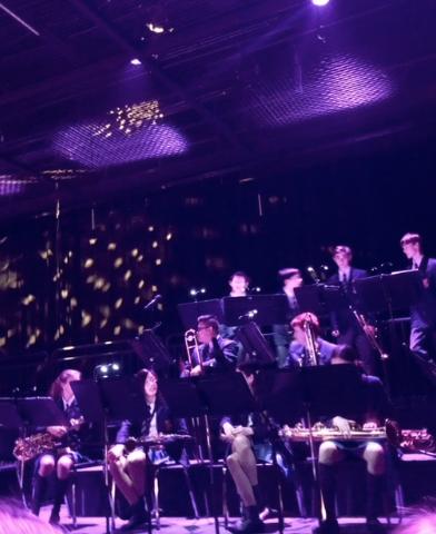 Collingwood's Junior Jazz Band.