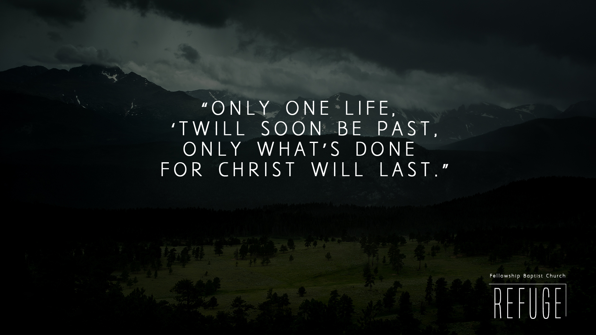 7be0fa2d4 How to Live a Life Well-Lived — Fellowship Baptist Church