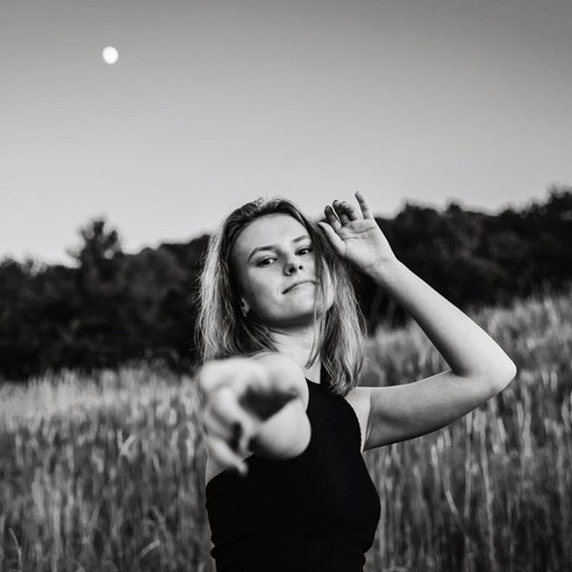 Yesterday's moon phase was called the half-blood Thunder Moon. I didn't know the moon was bad ass like that. I see you moon, I see you. 🌚 . . . #savitasittlerphotography #statecollegephotographer #paphotographer #seniorportraitphotographer