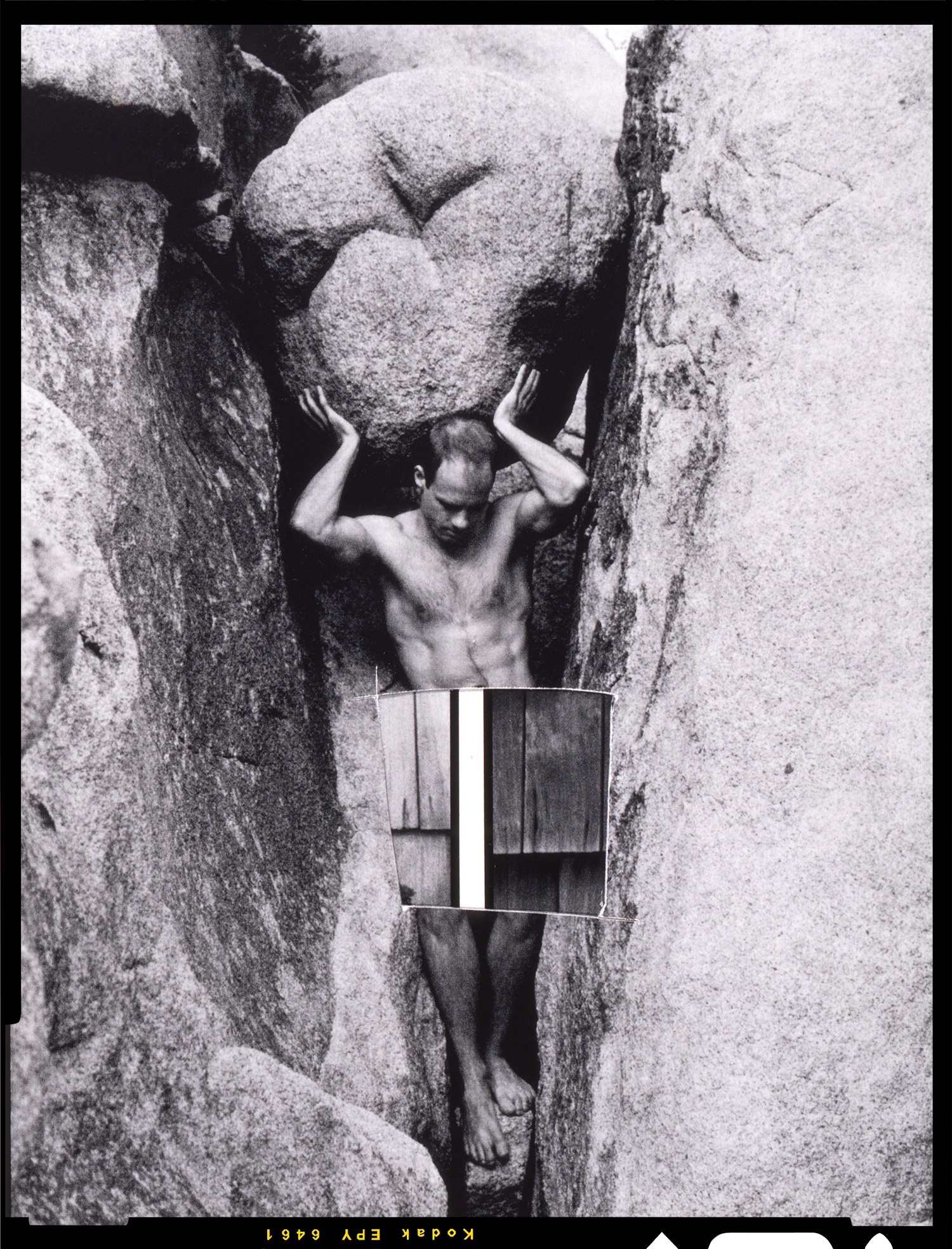 "Tom Bianchi, ""Tom as Atlas/Joshua Tree"""