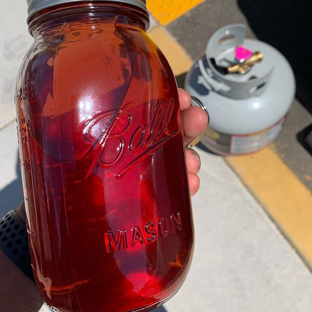 Went to Tractor Supply for propane and walked away with some moonshine after chatting with a rancher in line... entrepreneurship takes many forms 🤫
