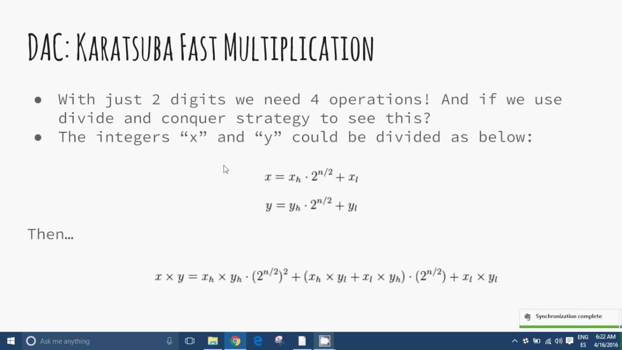 Divide and Conquer Algorithms — James Le