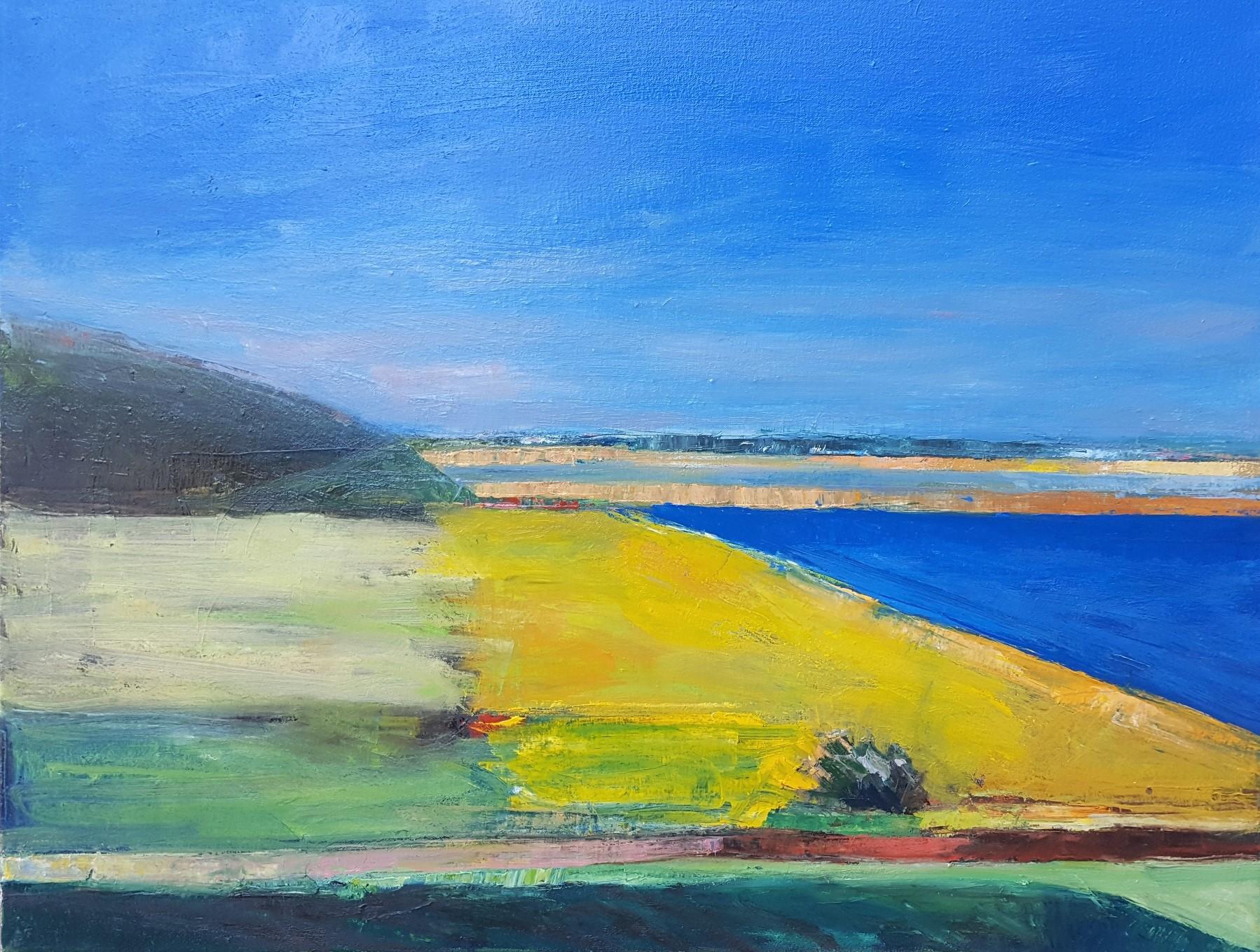 "Monterey #2   2019  oil on canvas  24"" x 30""  $2000"