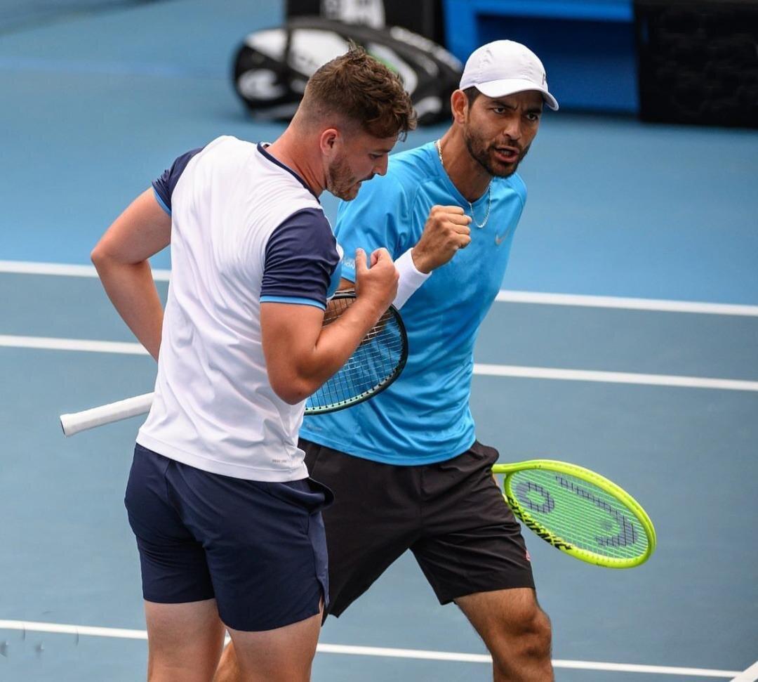 En el mes de febrero, ambos atletas disputaron en dobles la final del Chile Open ATP 250, y las semifinales del Open de Nueva York ATP 250 y del Delray Beach Open ATP 250.