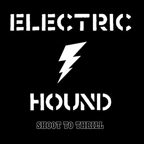"""Our debut EP """"Shoot to Thrill"""" was released a year ago today! ⚡️ Download or stream digitally, or pick up a physical copy at any of our upcoming shows: 👇 . 6/8 Maui Sugar Mill Saloon Tarzana, CA 6/14 Tiki Bar Costa Mesa, CA 6/29 The Canyon Montclair, CA . #electrichound #electrichoundband #shoottothrill #ep #debutep #itunes #spotify #amazonmusic #googleplaymusic #rocknroll #powertrio #hardrock #rawpower"""