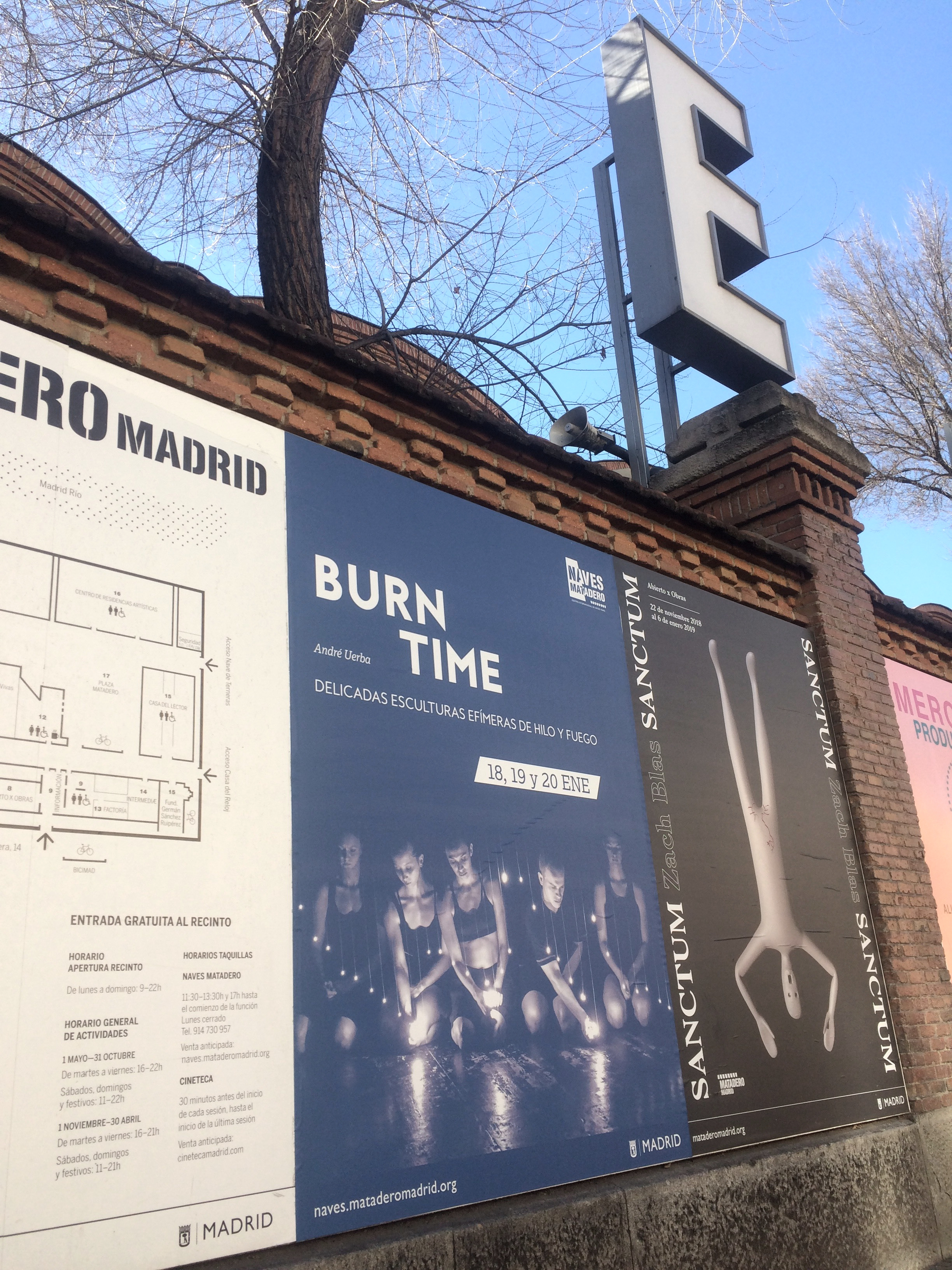 Burn Time Madrid, André Uerba, Naves Matadero