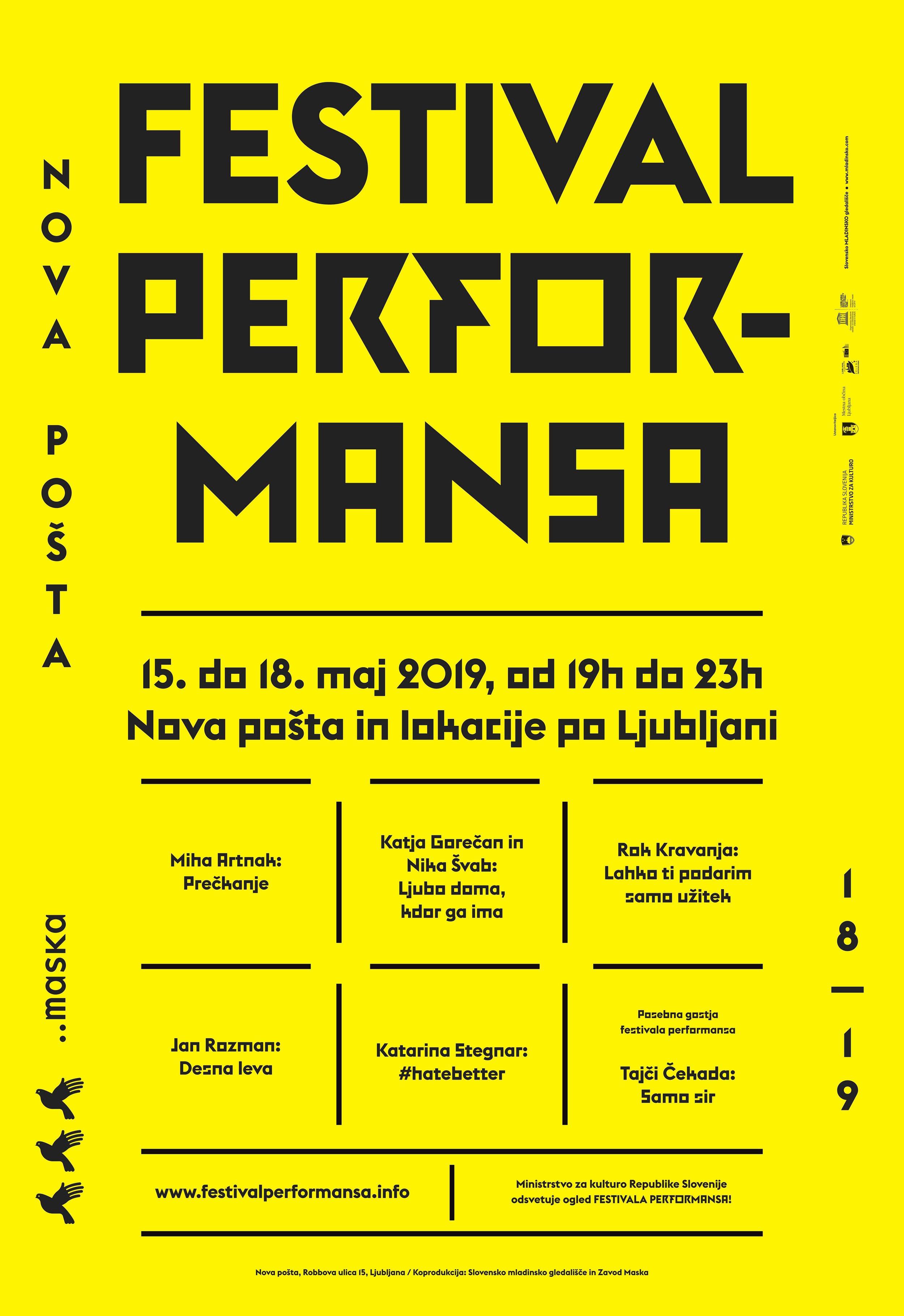 Festival Performansa Jan Rozman Leva Desna Marš