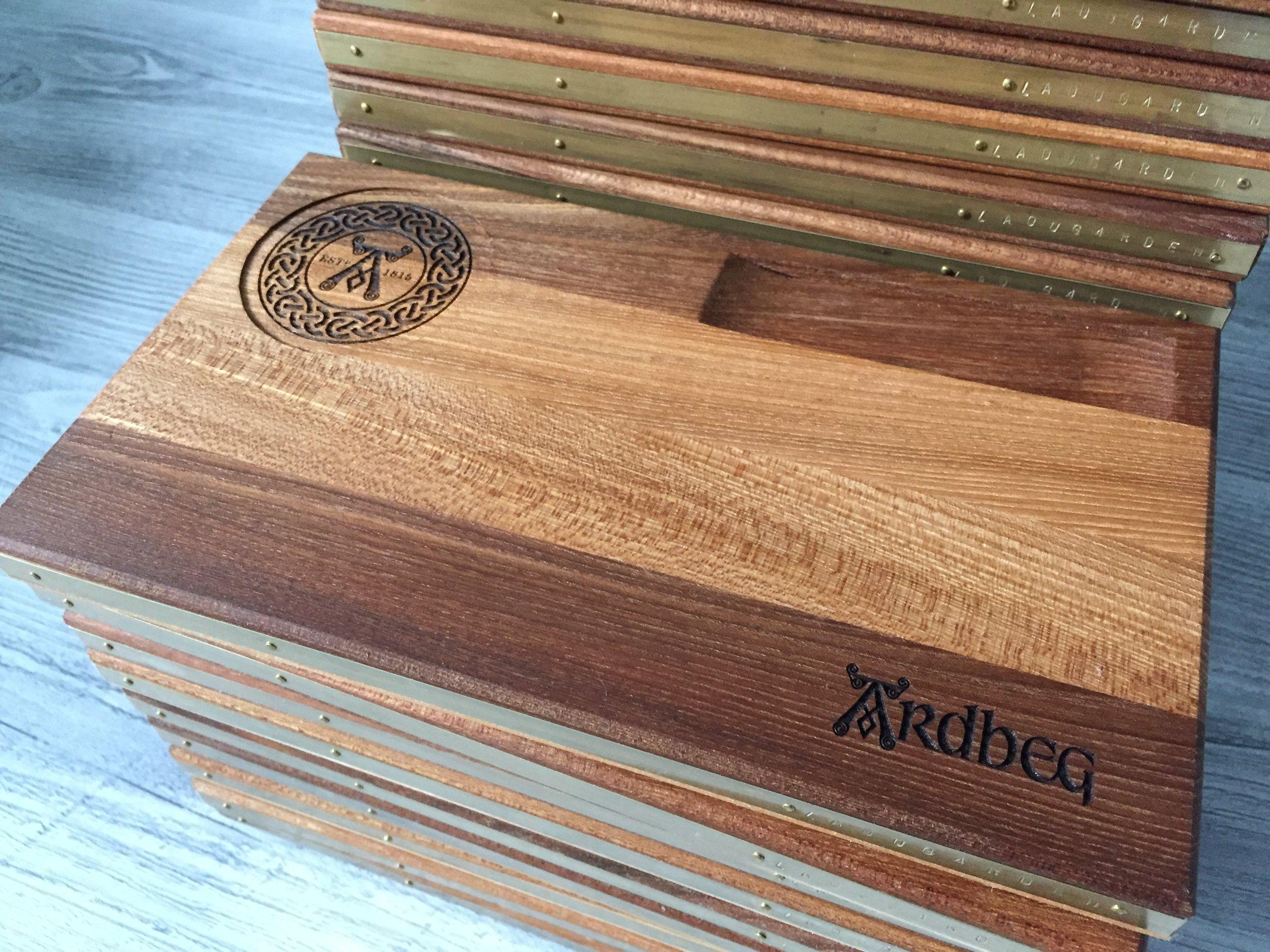 Företagssamarbete med Ardbeg - Whiskymässa flera städer i Sverige