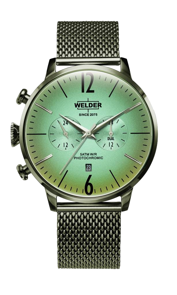 Welder Watch - Modern Italian Design with new technologies. The electrified creates a multi color effect that makes these watches unique.Starting price: 165,-