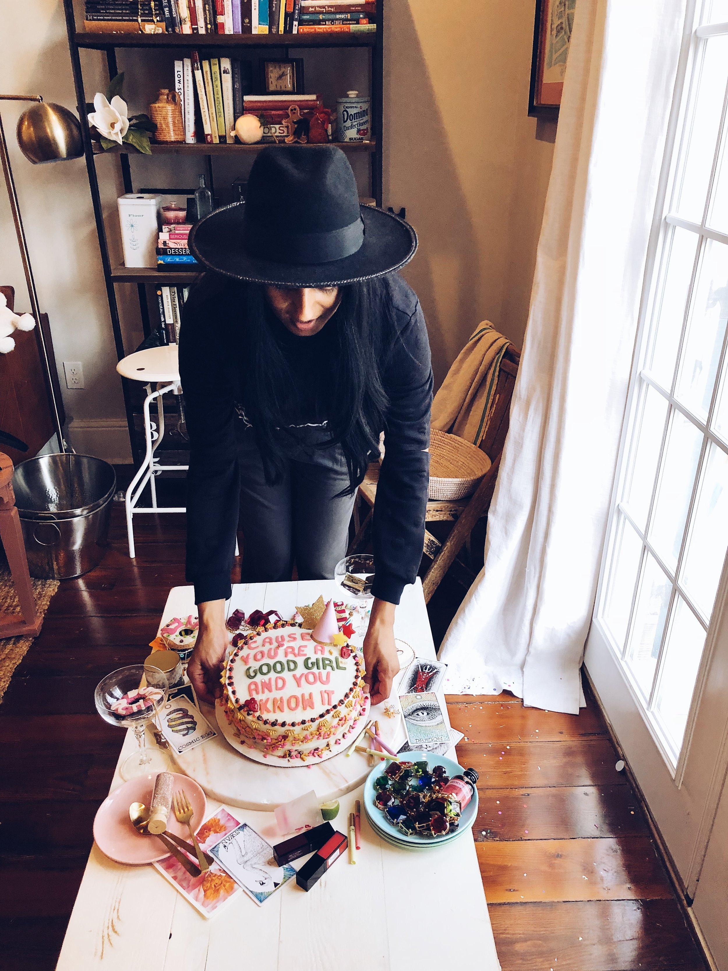 the perfect shot drake on cake