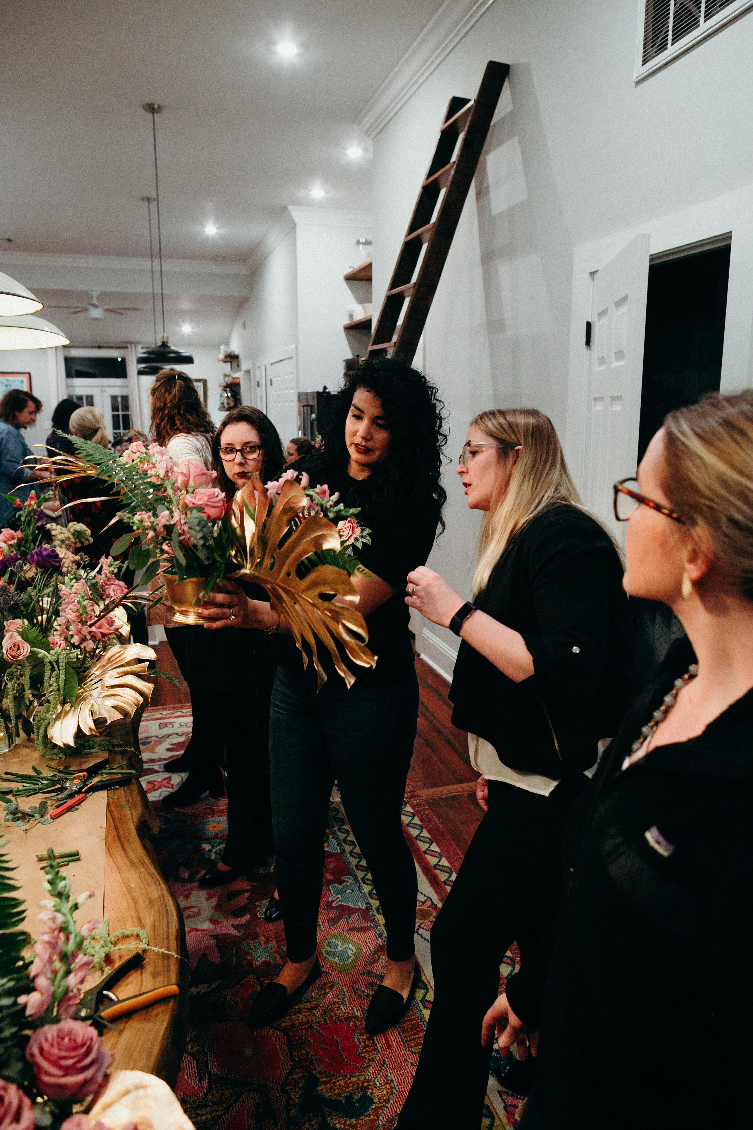 antigua floral workshop