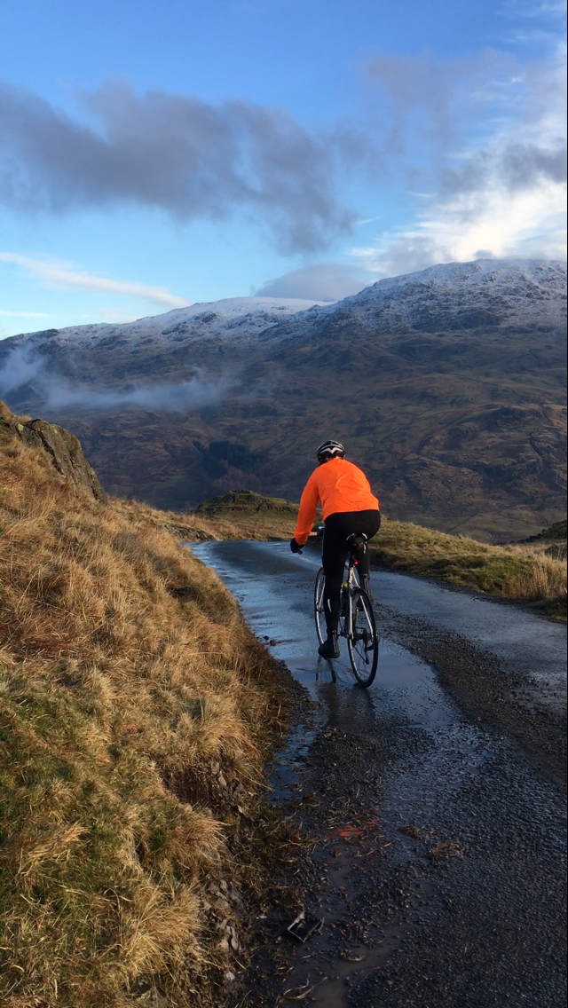 Winter training in the Lake District, UK, 2017