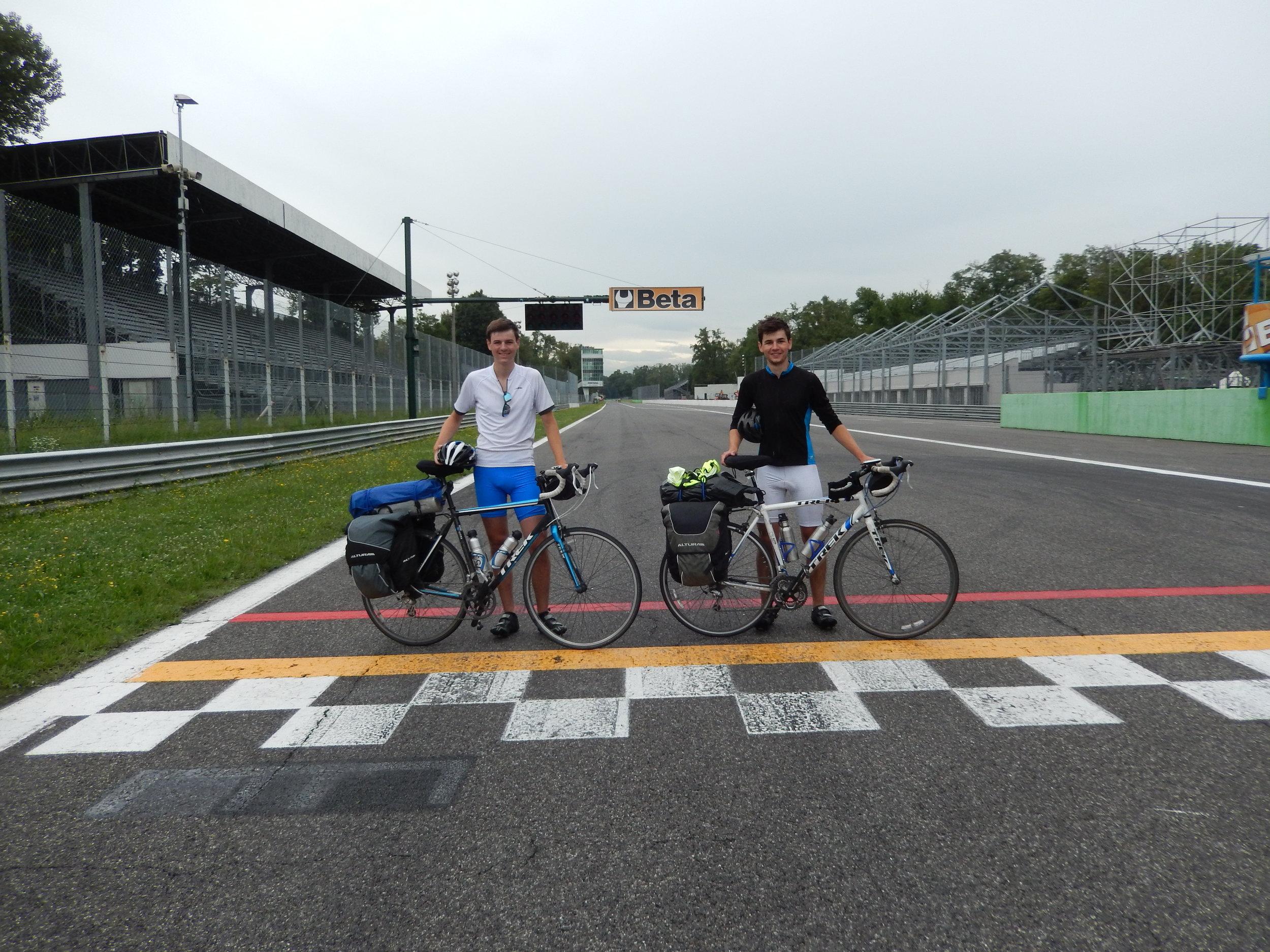 2 excited Formula 1 fans! - Autodromo Nazionale Monza, Italy