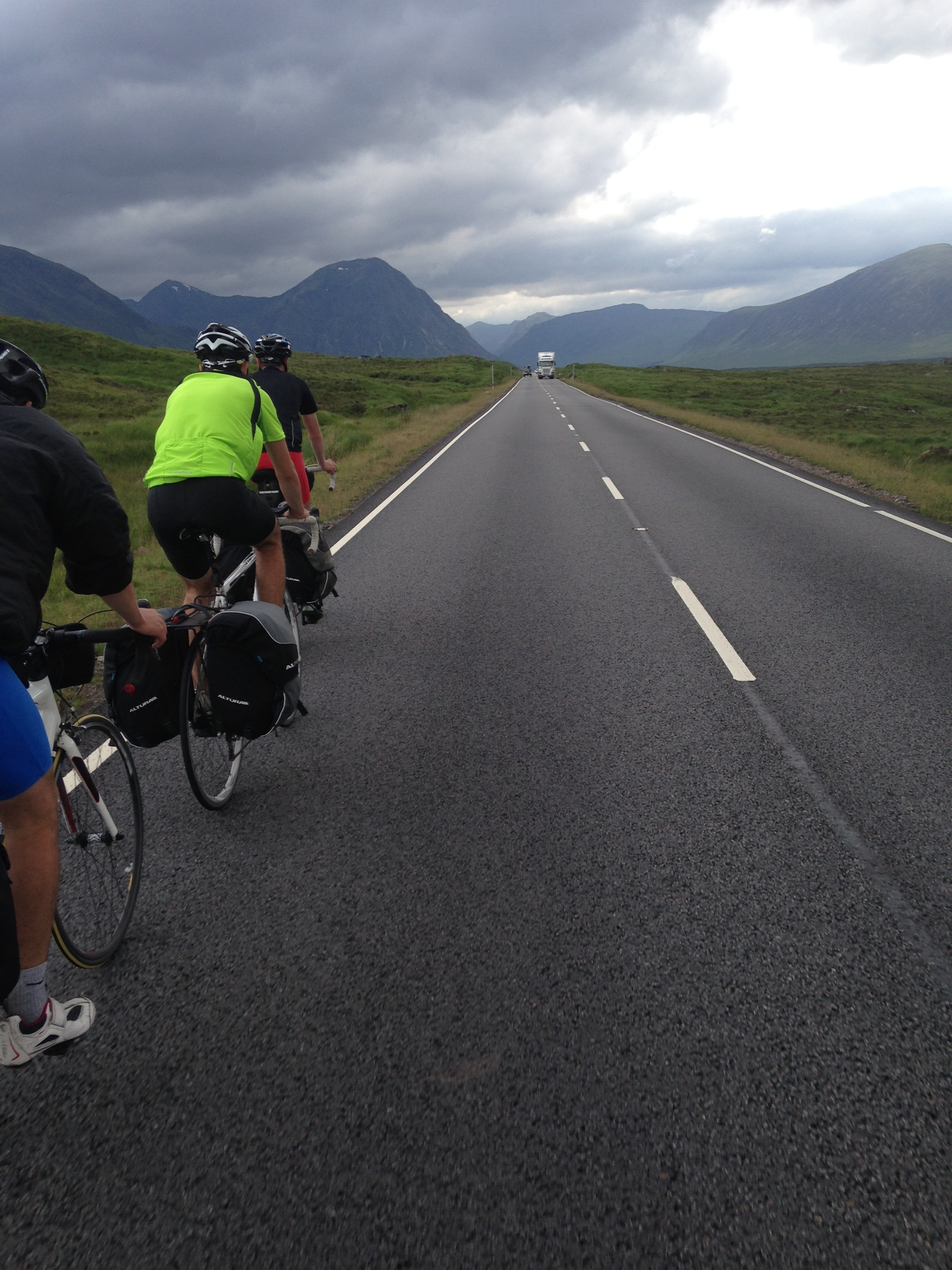 The A82 from Glasgow to Fort William