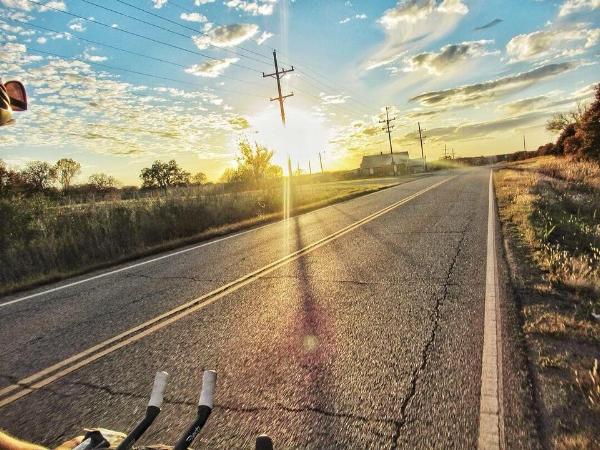 Approaching Oklahoma City
