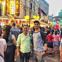 Chinatown with my host, (uncle) Steven