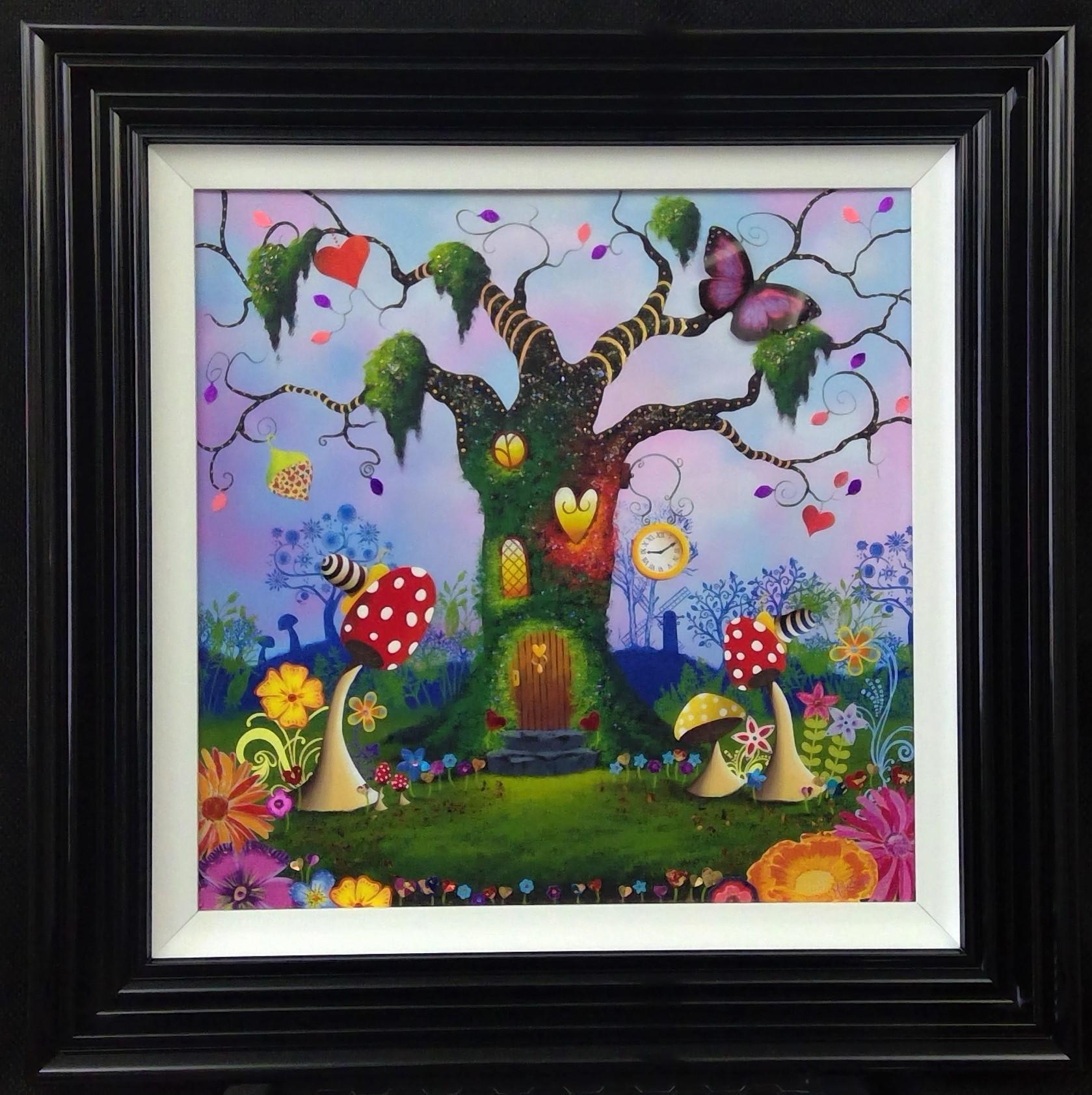 'Tree of Love' - Oil & mixed media on panel20