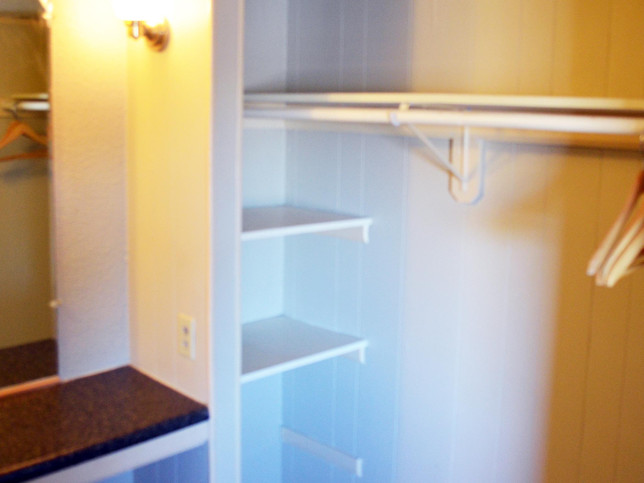 Walk-In Closet and Vanity