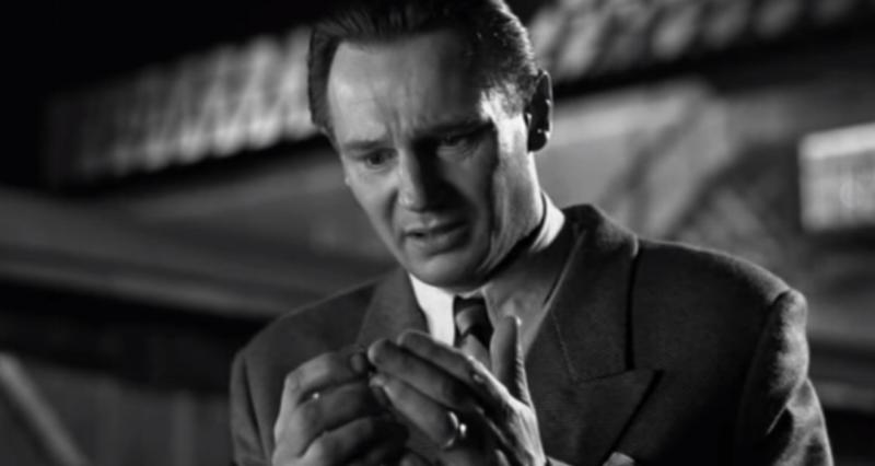 Liam Neeson, depicting Oscar Schindler, in 1993's  Schindler's List .
