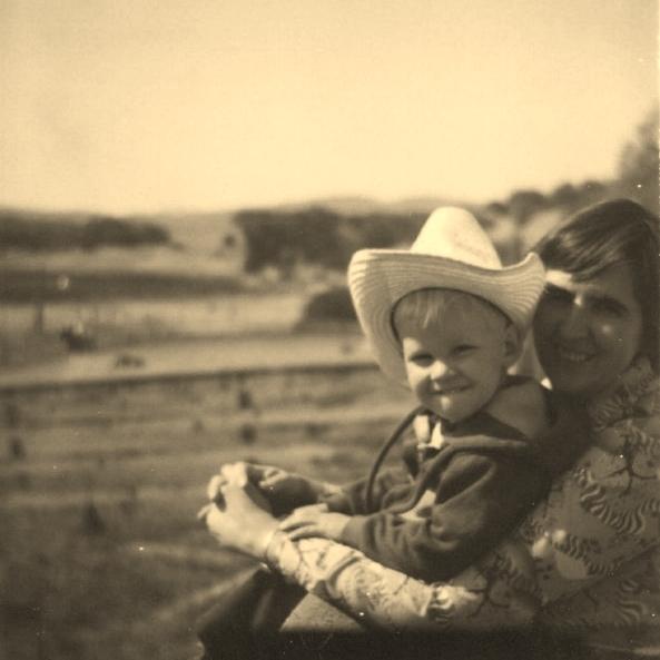 Mom and I - circa mid 1970's