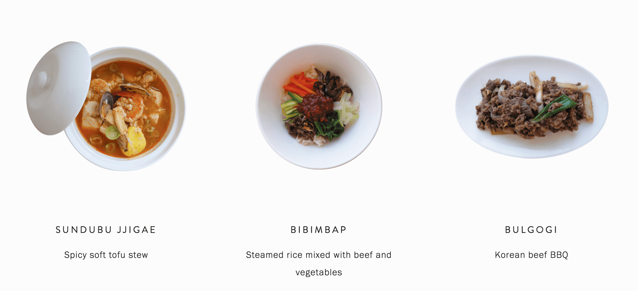 Cooking class in Seoul - Korean food Sundubu Jjigae (Soft tofu stew), Bibimbap,  Bulgogi