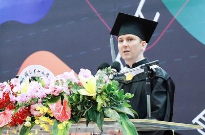 IBMBA105級畢業生高安德