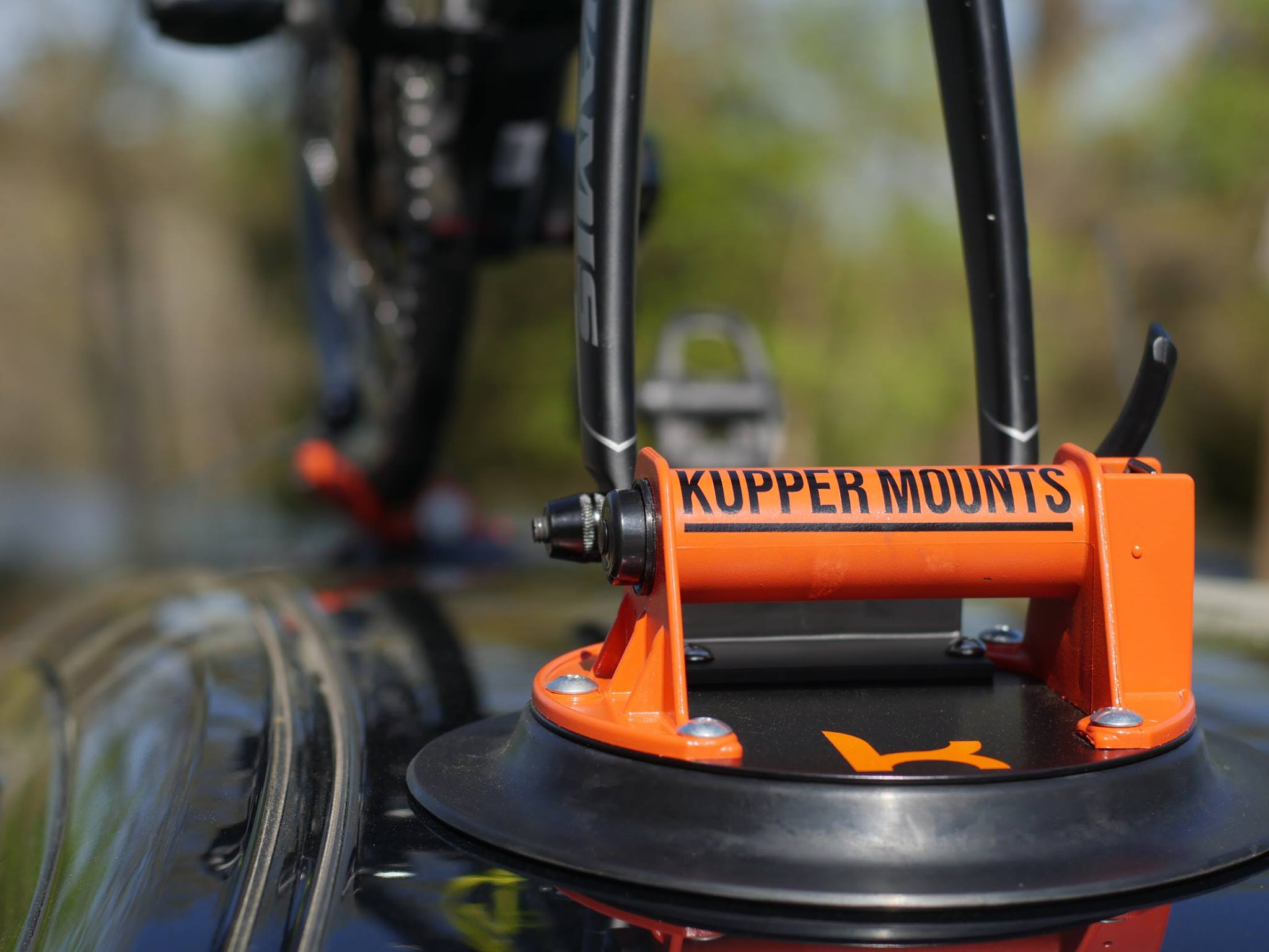 Kupper Mounts - smallest bike carrier ever
