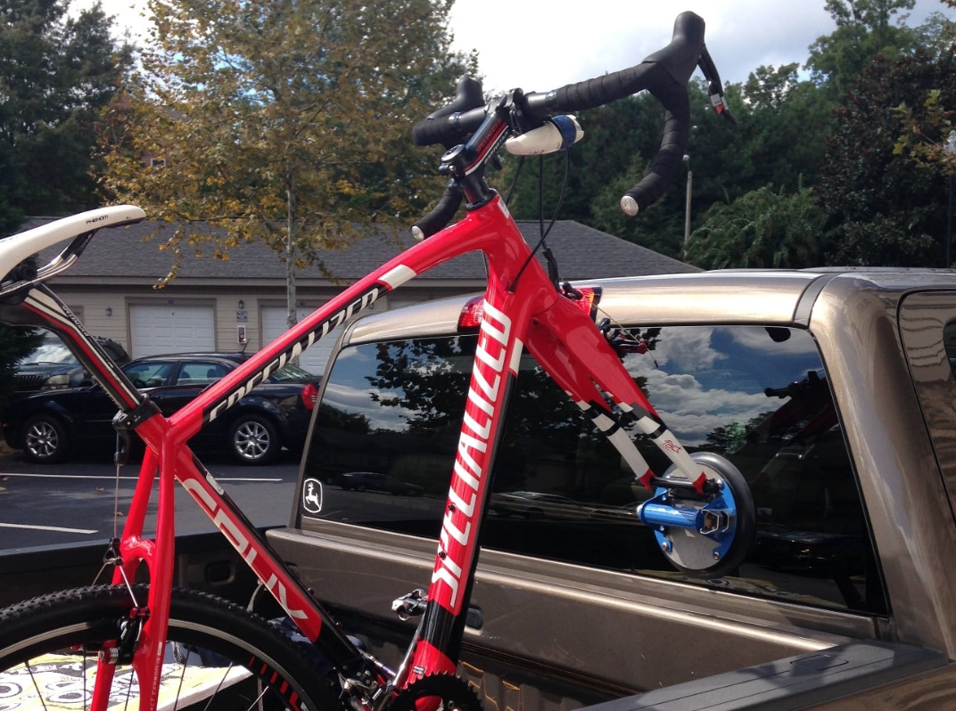 Kupper Mounts Bike Racks Can Be Mounted to the Back Window of a Pickup Truck.png