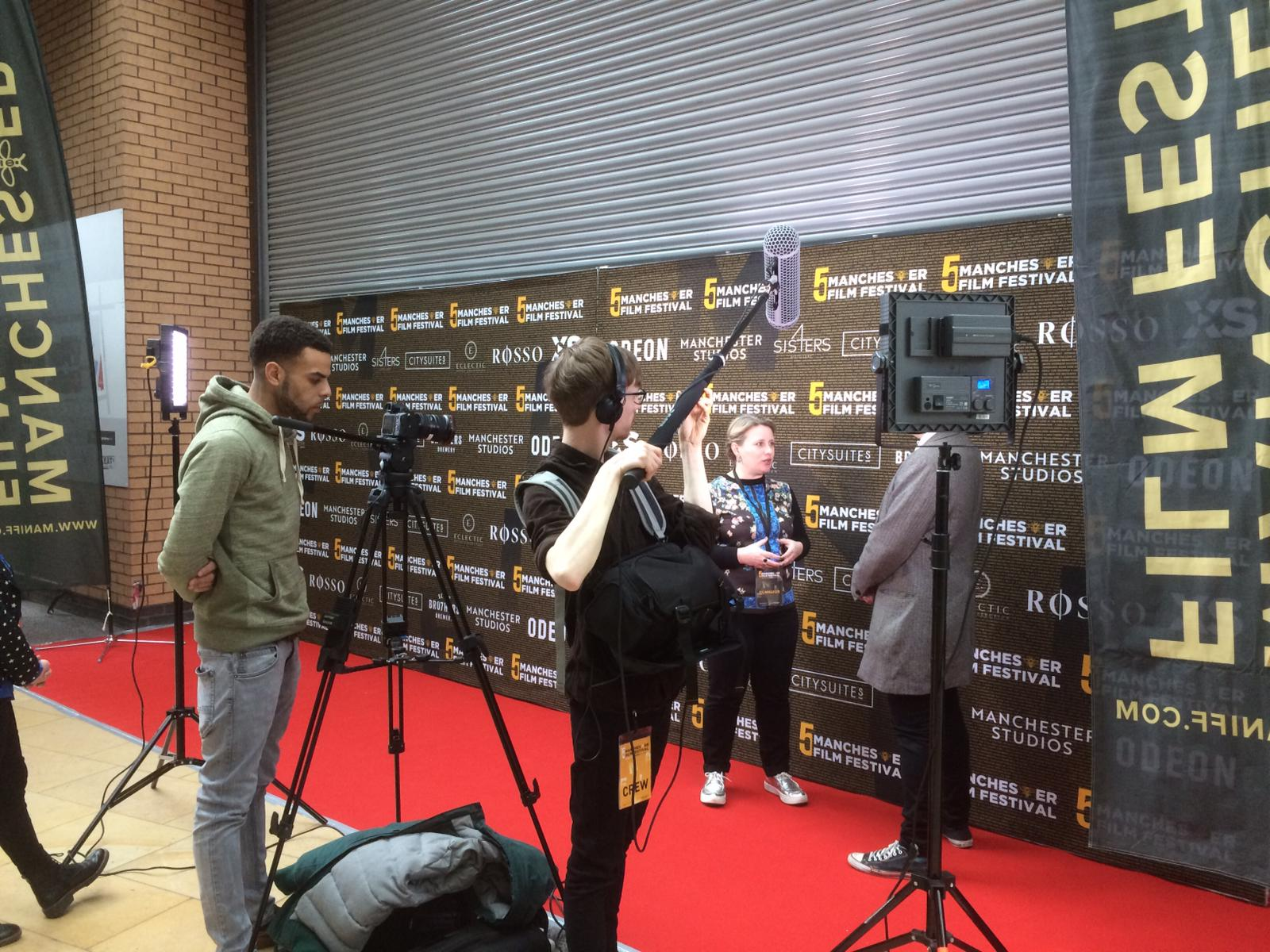 Red Carpet Interview  Manchester Film Festival