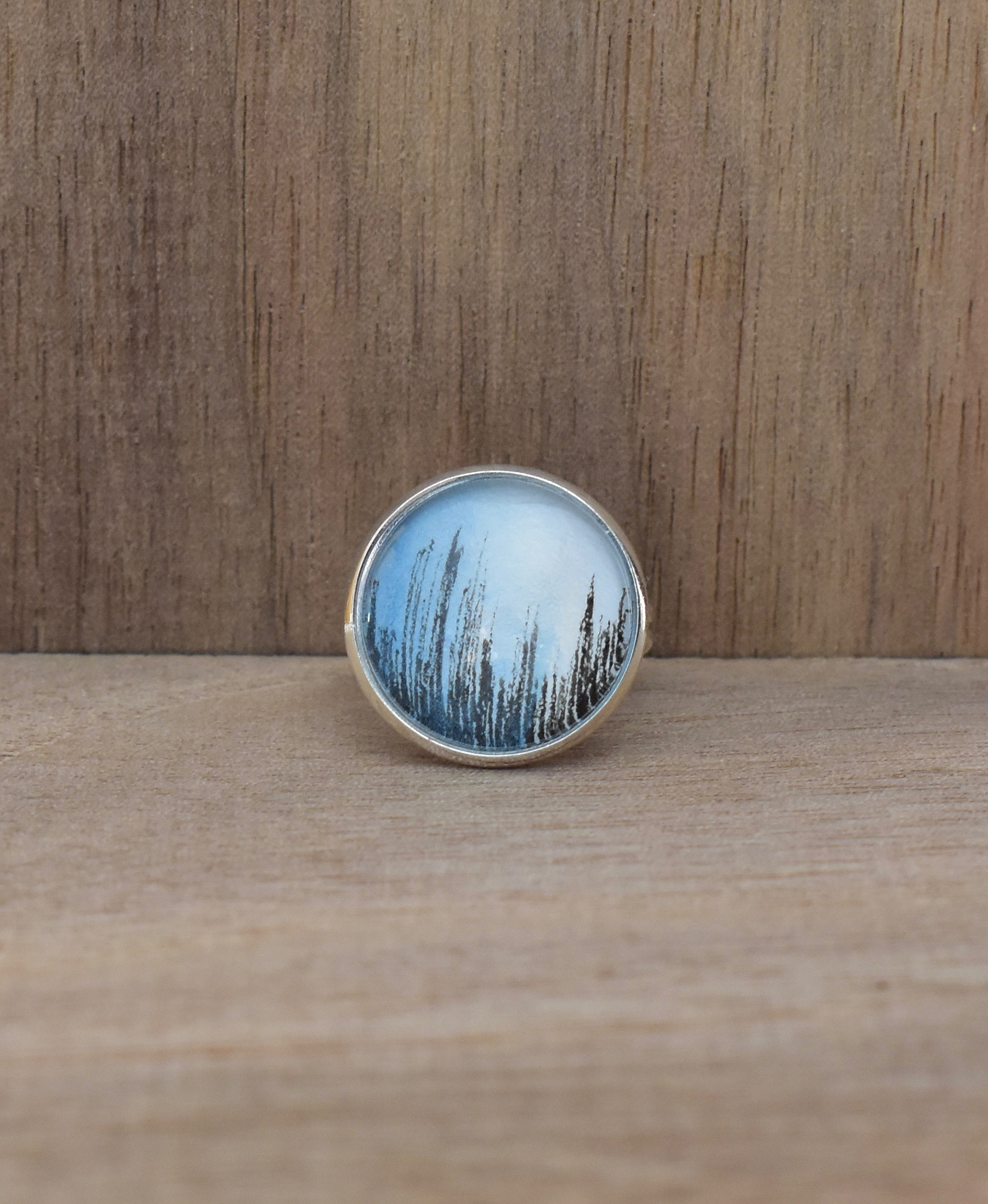 Blue Graph Small Ring