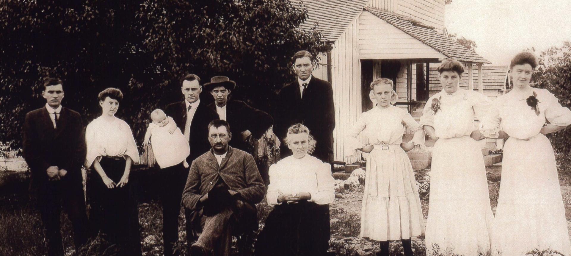 The original Schad Family