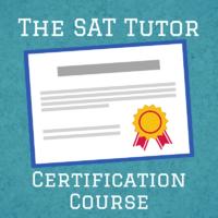SAT Tutor Certification