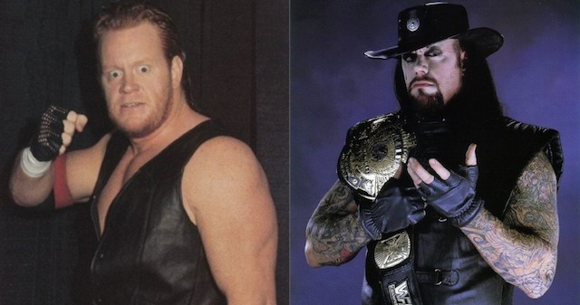 Undertaker before and after
