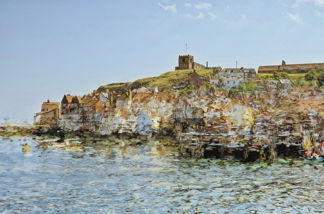 FG010** - An impressionistic view of Whitby