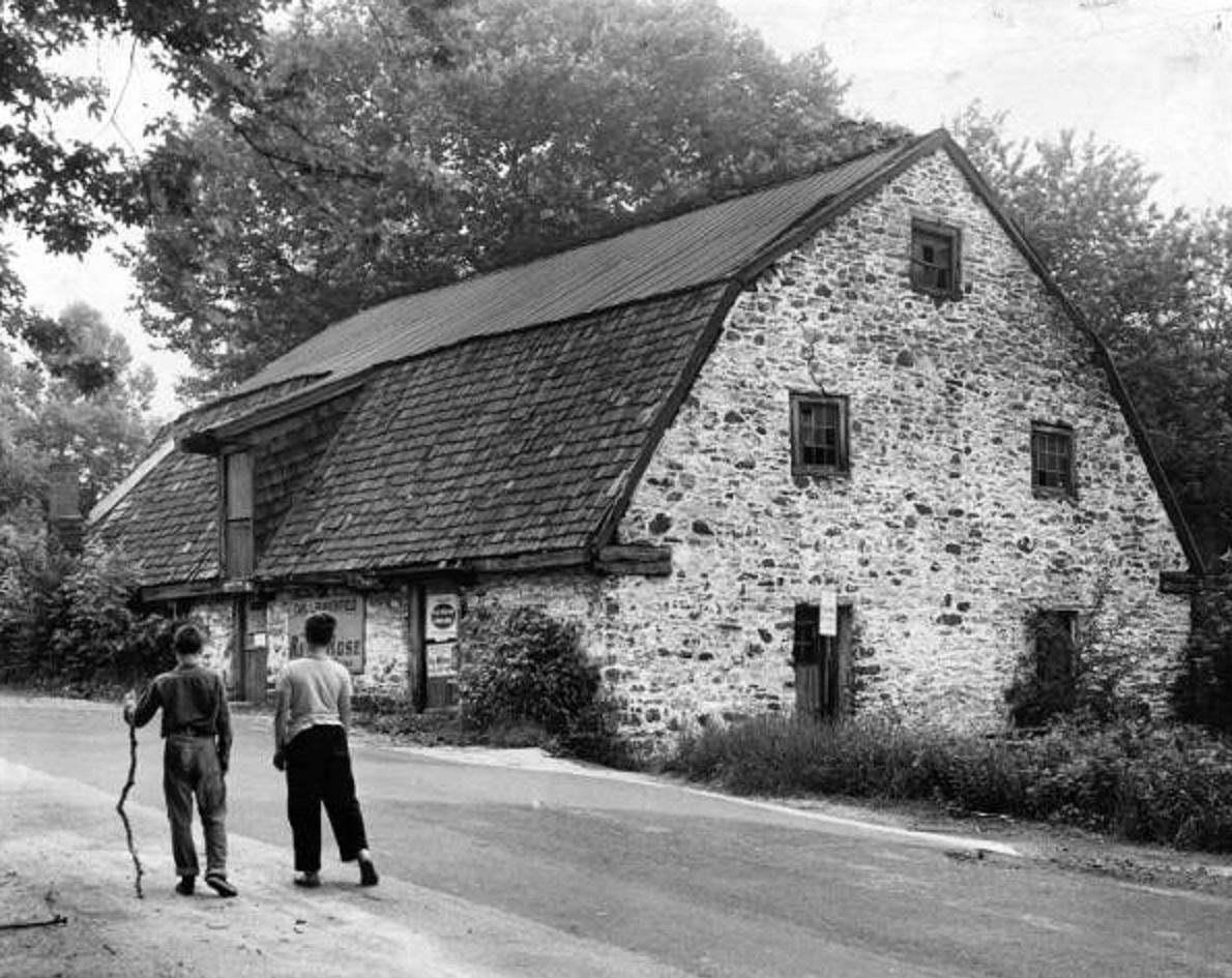 Spring Mill House - June 15 1962 - Top Photo.JPG