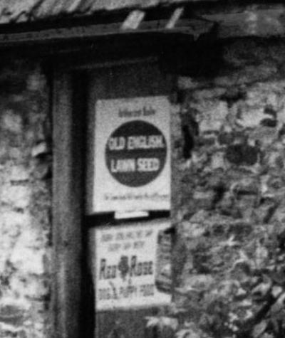 Spring Mill House - June 15 1962 - Close Up of Signage - Photo 2.JPG
