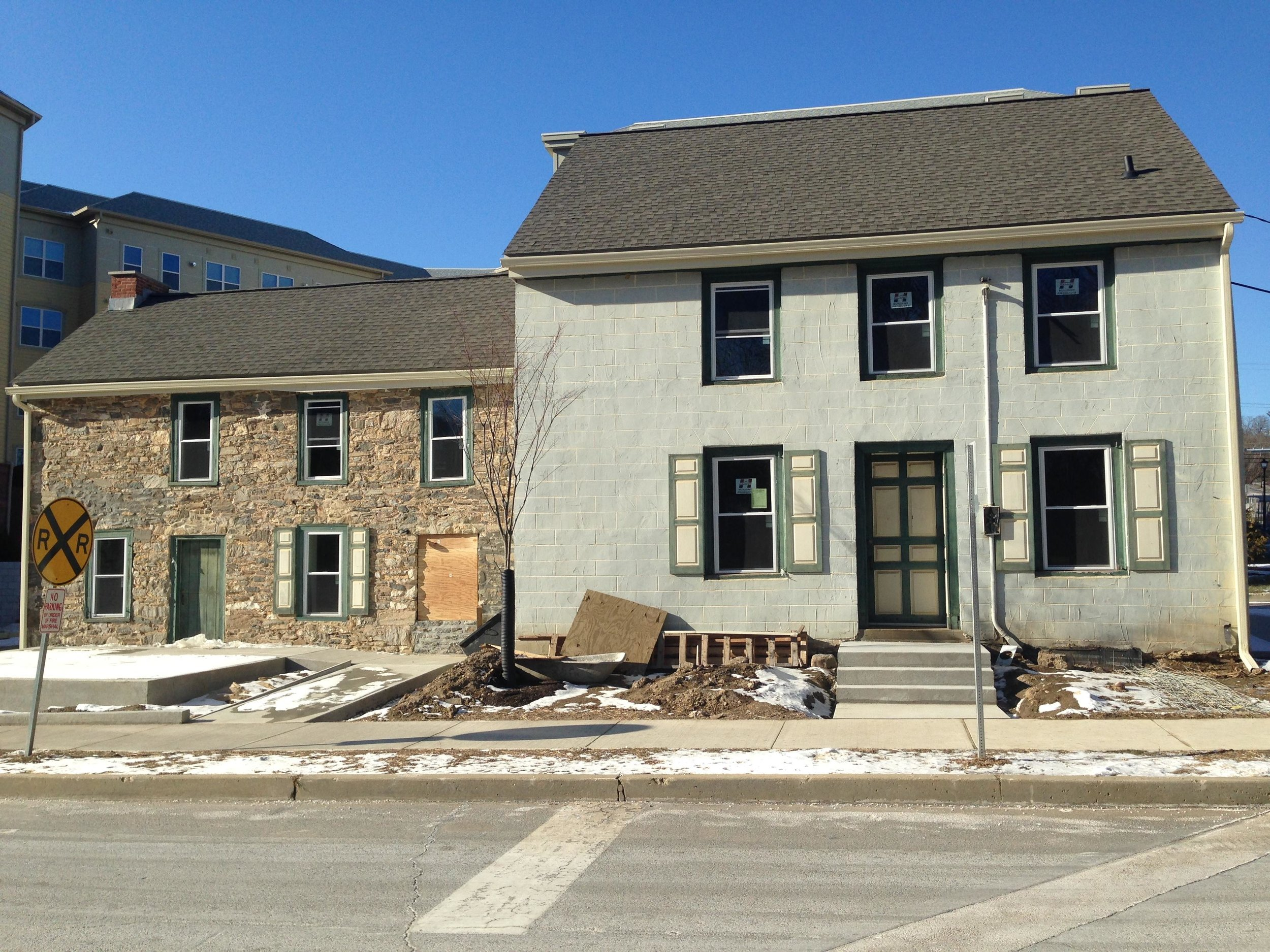 Millers House - Front of Building - Under Construction - Riverbend - Photo 6.JPG