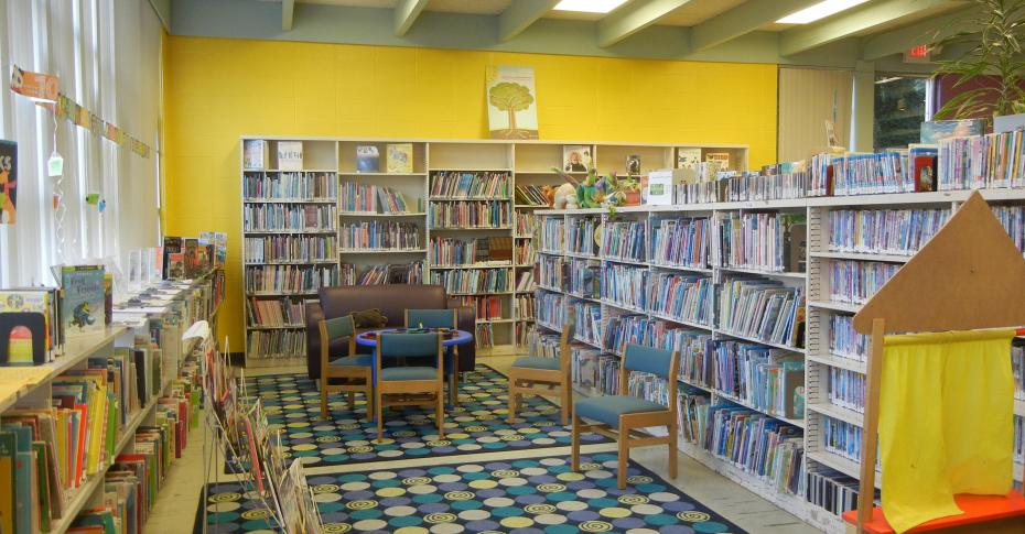 Ambler Public Library - Childrens Area.JPG