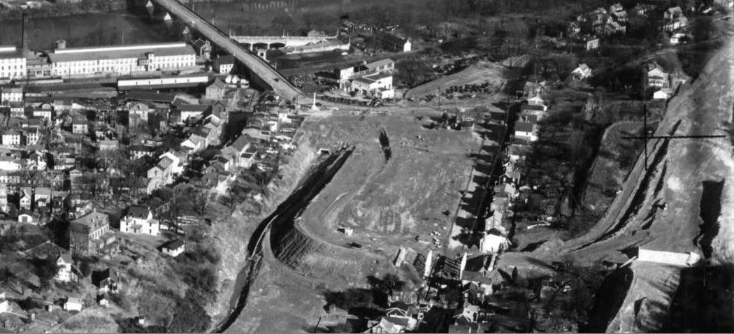 The Freedom Valley Chronicles: West Conshohocken As  The Schuylkill Expressway Arrives