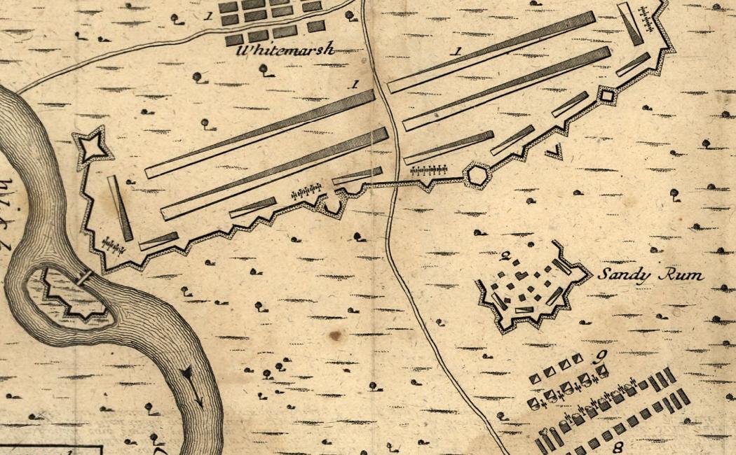 Battle of Whitemarsh Map - German - Library of Congress.JPG