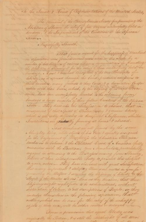 Franklin Petition - Page One.JPG
