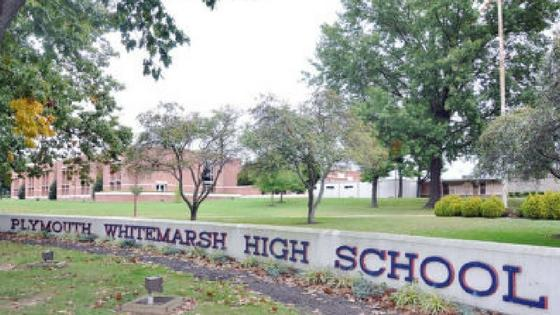 Plymouth Whitemarsh High School Sign.JPG